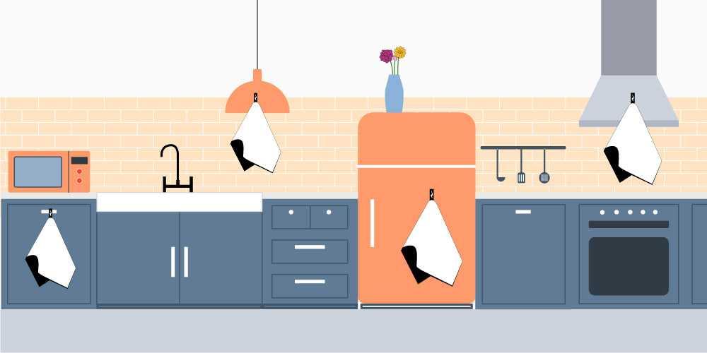 canovacci cucina personalizzati