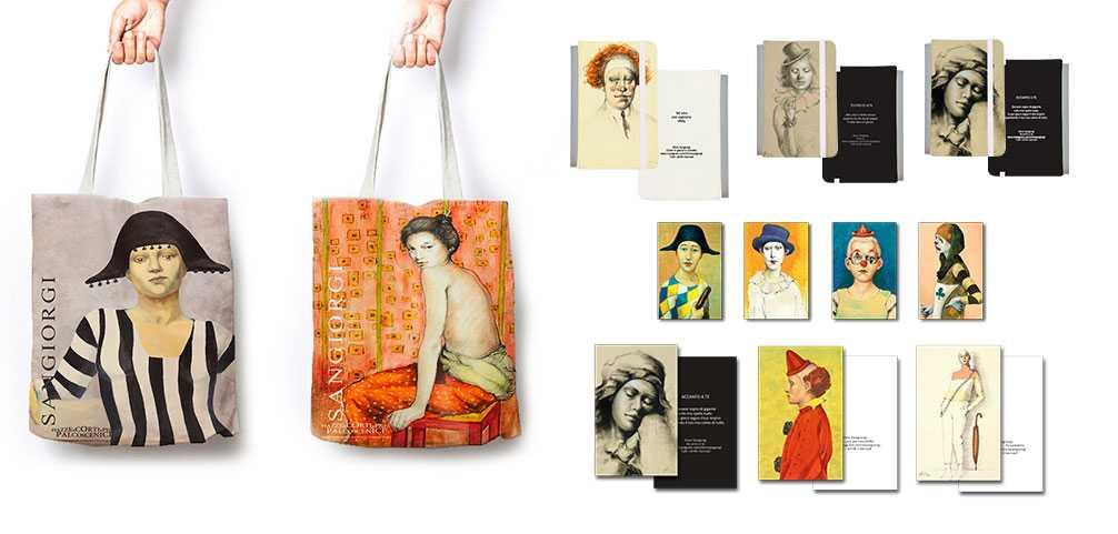 Accessori: borse, taccuini e magneti di Silvio Sangiorgi
