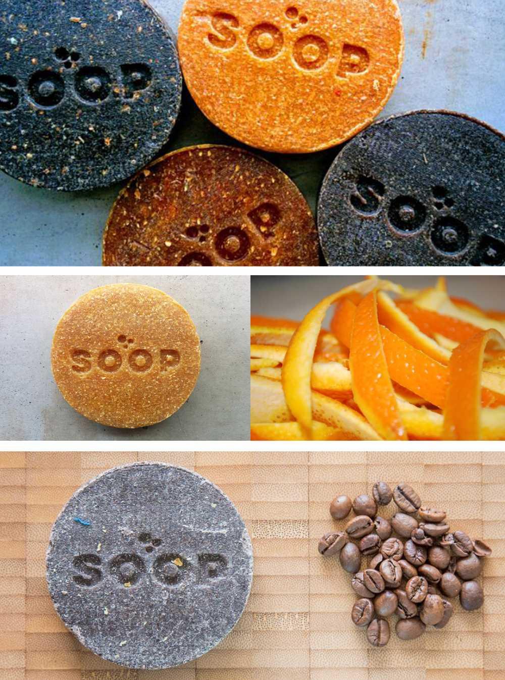IMAGOMMAGE-SLIDE-ECO-GREEN-PERSONALIZZATO-MERCHANDISING-MUSEALE-PROMOZIONALE-RICICLATO-Sapone arancia e Caffè